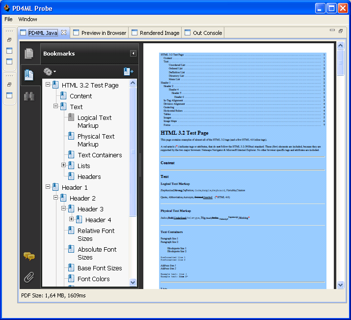 PD4ML Cookbook - HTML-to-PDF converter for Java and  NET